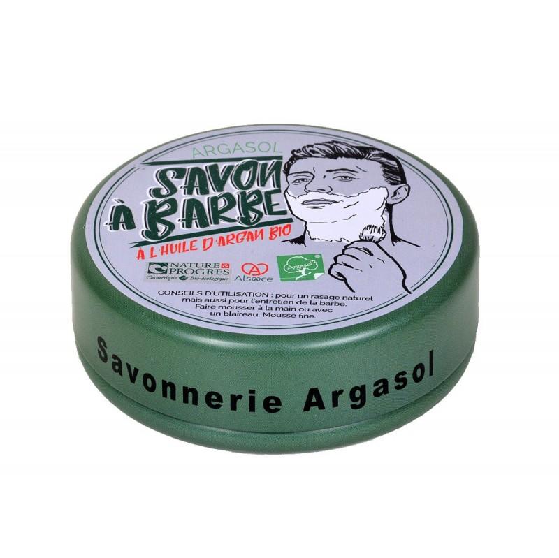 Savon bio artisanal à Barbe 140g - Savonnerie Argasol