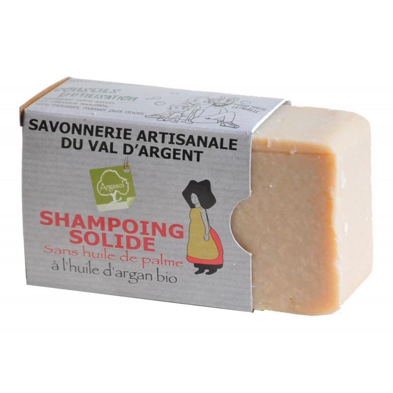 Shampoing solide  - Savonnerie Argasol