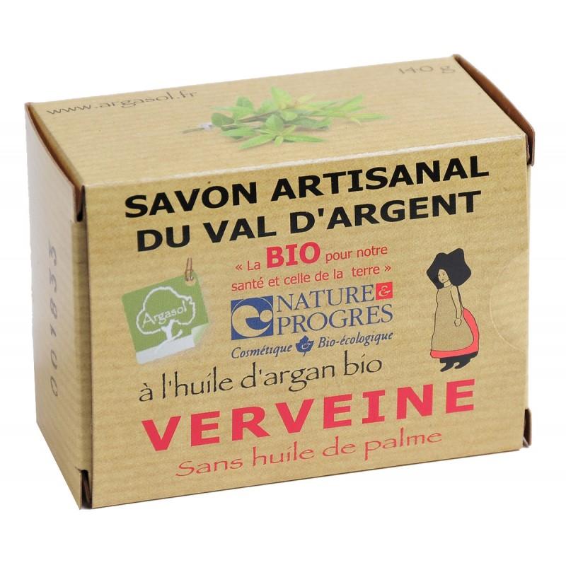 Savon bio artisanal à la Verveine - Savonnerie Argasol