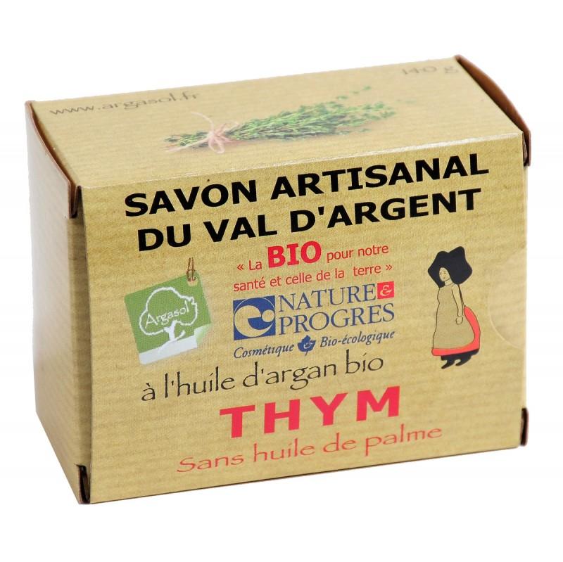 Savon bio artisanal au Thym - Savonnerie Argasol