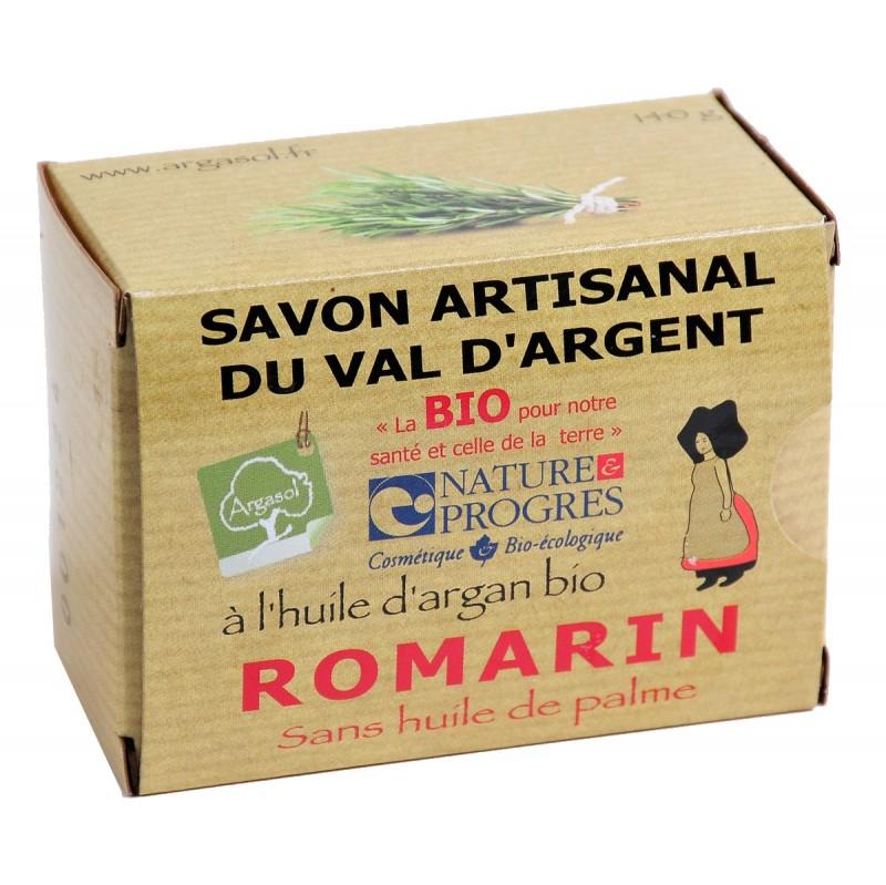 Savon bio artisanal au Romarin - Savonnerie Argasol