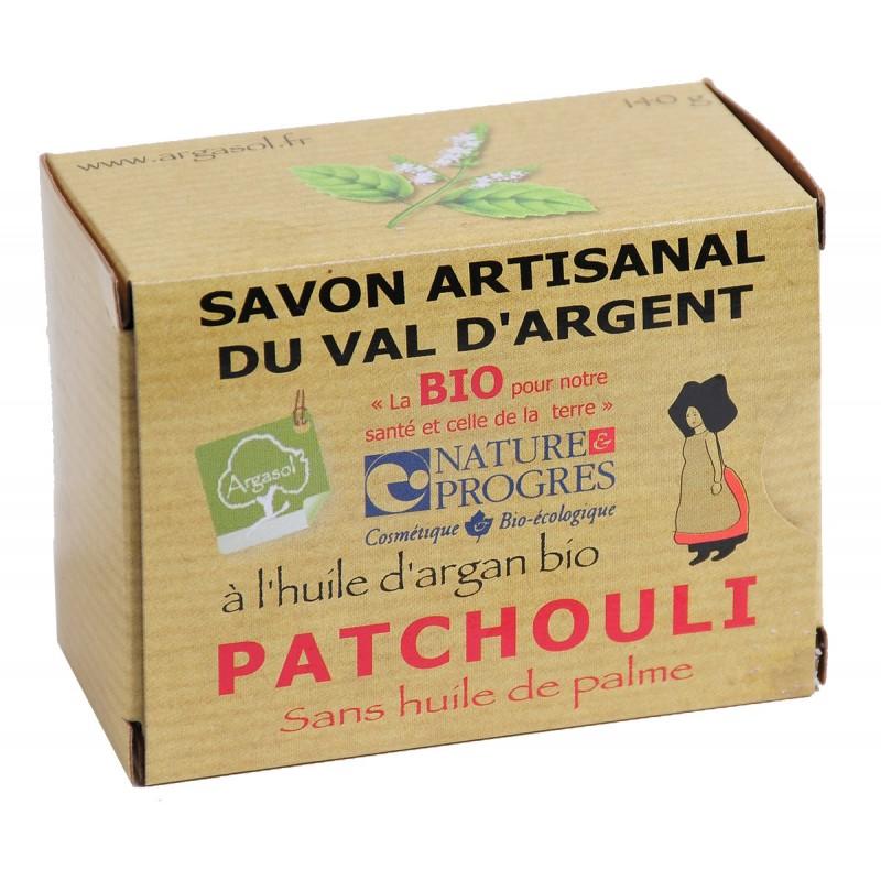Savon bio artisanal au Patchouli - Savonnerie Argasol