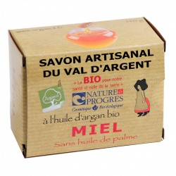 Savon bio artisanal au Miel - Savonnerie Argasol