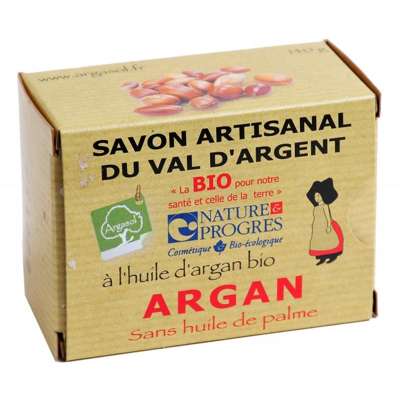 Savon bio artisanal à l'Argan - Savonnerie Argasol