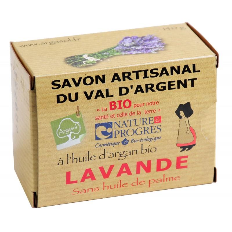 Savon bio artisanal à la Lavande - Savonnerie Argasol