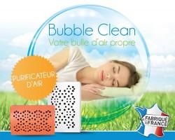 Bubble Clean - purificateur air - destructeur polluants bureau et maison