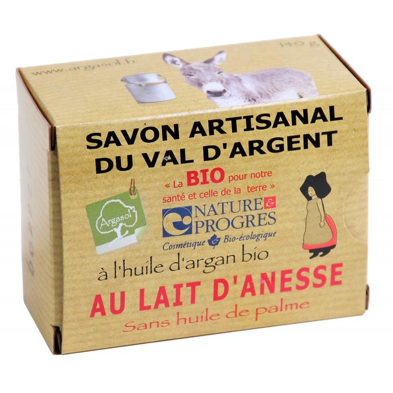 Savon bio artisanal au Lait d'Anesse - Savonnerie Argasol